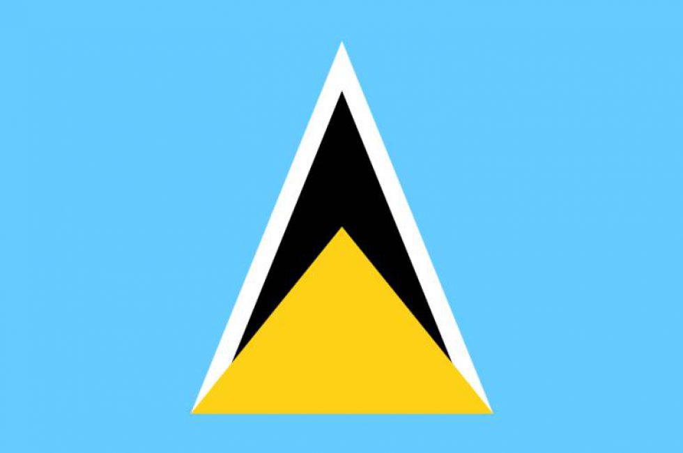 vlag-saint-lucia-vlag